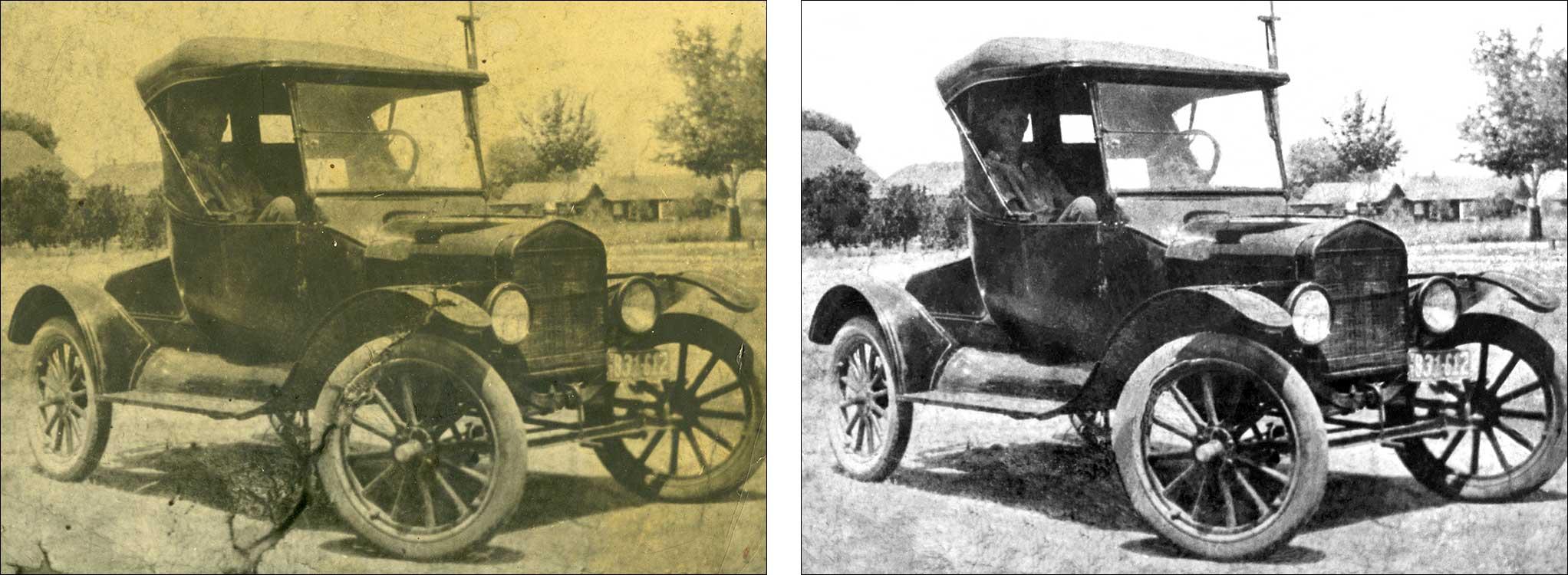 Digital Restoration of Old Photographs