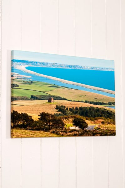 Narrow Wrapped Fine Art Stretched Canvas