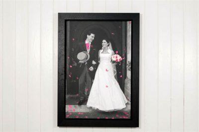Prima Framed Stretched Canvas